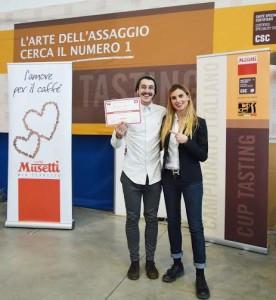 Lorenzo Sordini con Chiara Bergonzi