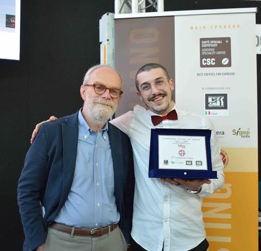 IL CAMPIONE ITALIANO CUP TASTING 2016  È…LORENZO SORDINI