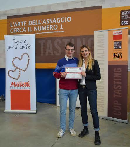 Simone Cattani con Chiara Bergonzi