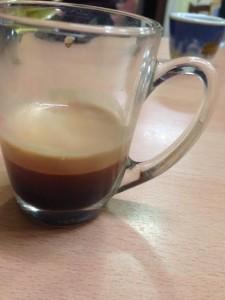 Espresso in capsule