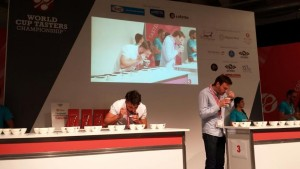 Alessandro Ghizzardi, Cup Tasting