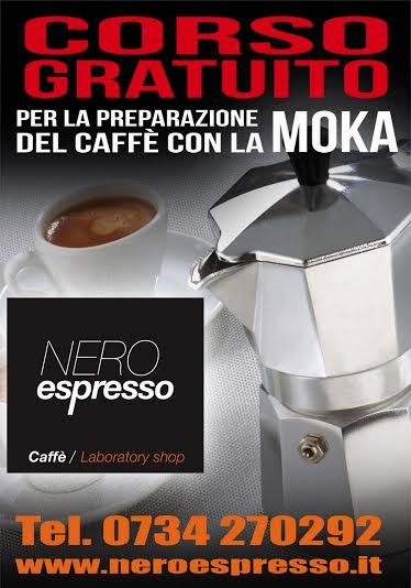 CORSO GRATUITO PER LA PREPARAZIONE DEL CAFFE' CON LA MOKA