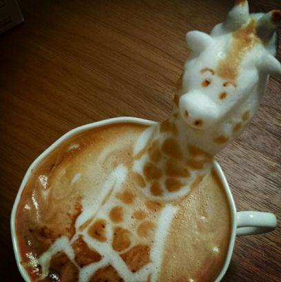 latte art 3d