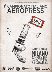 Campionato italiano aeropress locandina