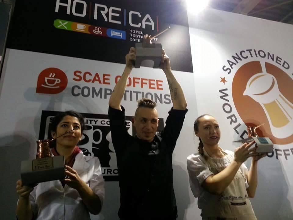 Davide Berti Campione Mondiale Ibrik