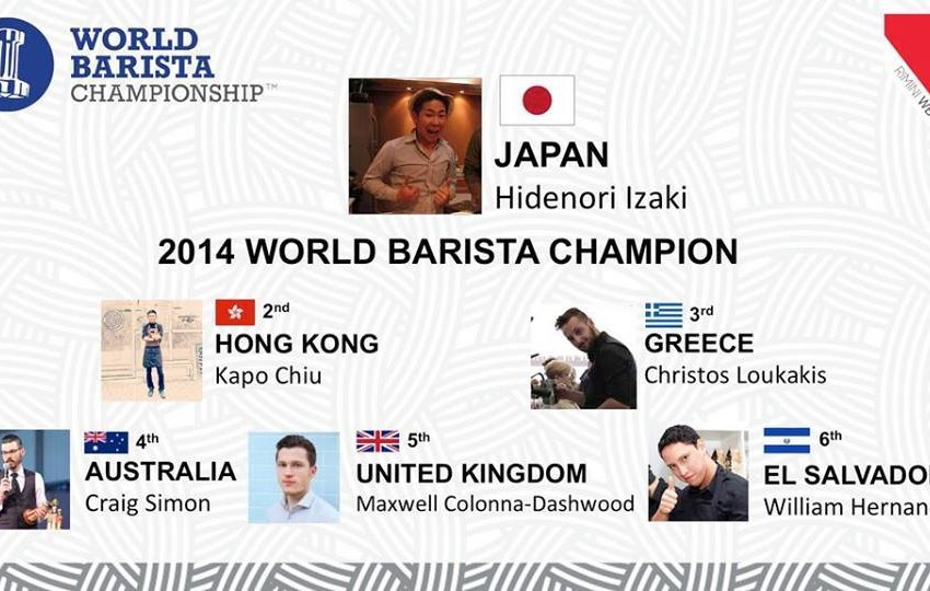 LA CLASSIFICA DELLA FINALE MONDIALE DEL WORLD BARISTA CHAMPIONSHIP 2014, E I VIDEO…