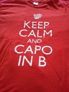 Una delle T-shirt del Trieste Coffee Festival...non abbiamo resistito!!