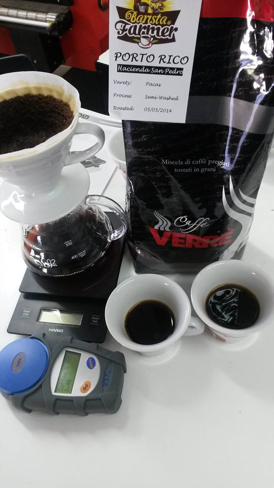 Un test con il metodo V-60 effettuato da Aldo Verrengia
