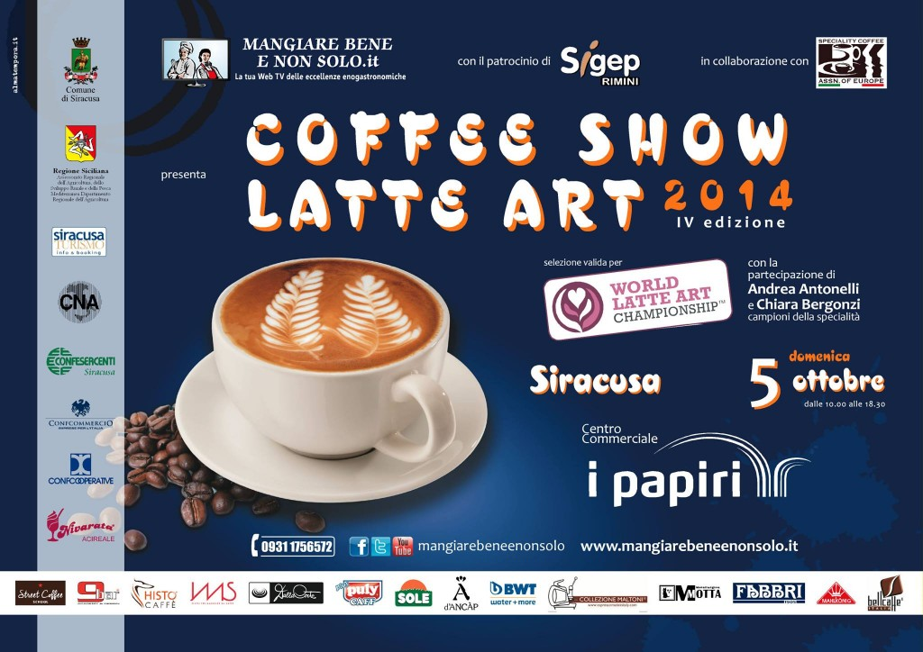 Coffee Show Latte Art