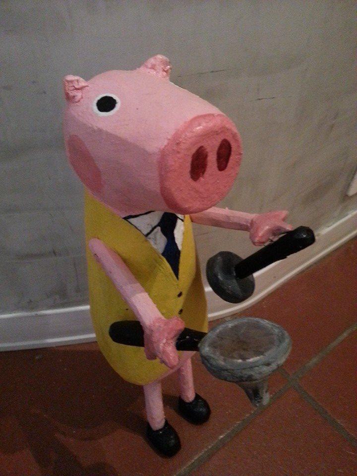 "Peppa ""Barista"" Pig"