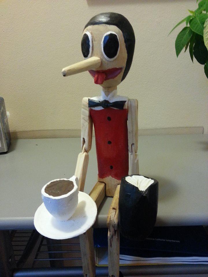 Pinocchio Barista
