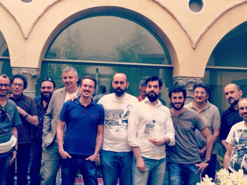 IL CAMPIONE ITALIANO ROASTING 2015 E'…..RUBENS GARDELLI!!