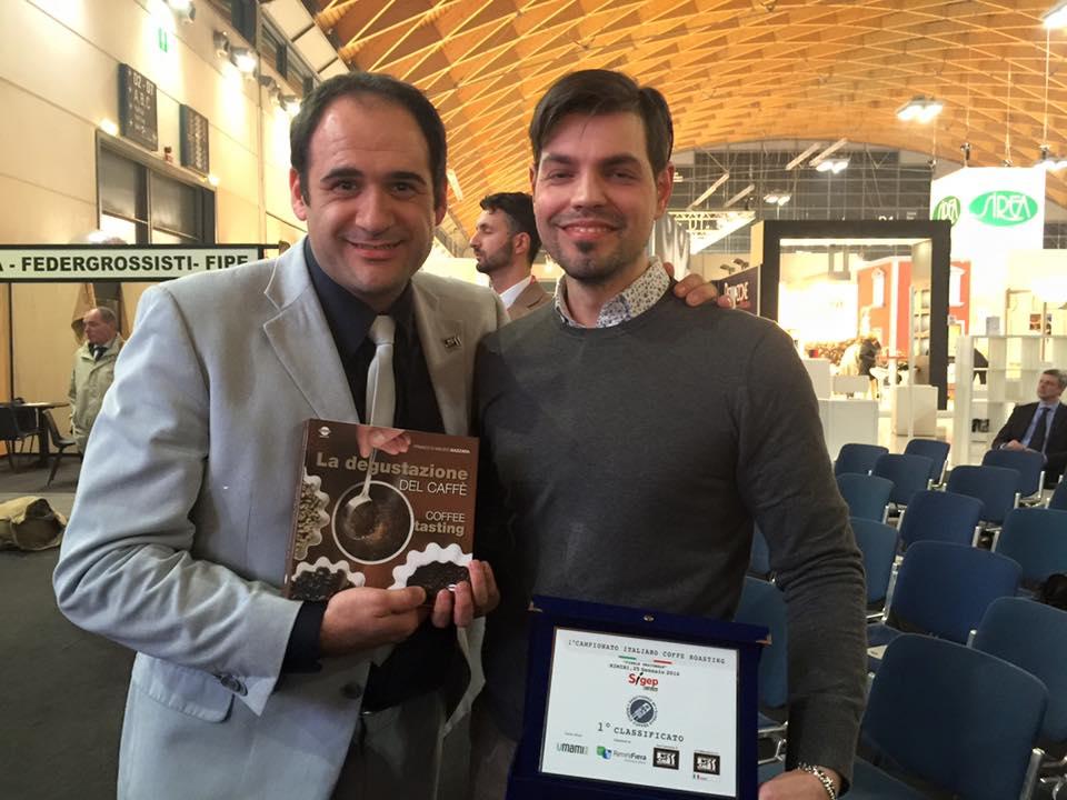 Rubens Gardelli con il coordinatore nazionale Scae Italia Dario Ciarlantini