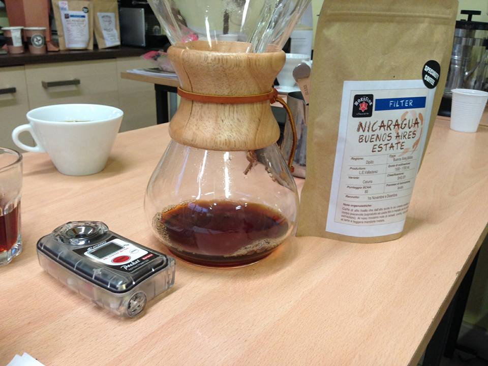 Rifrattometro, Chemex e Specialty Coffee