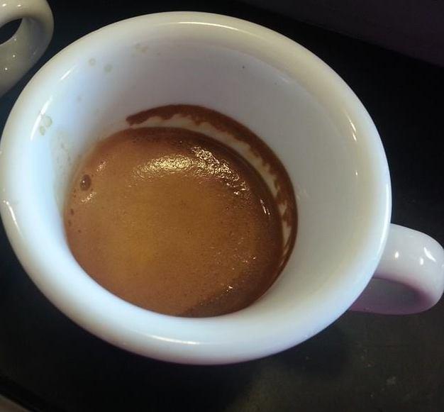 IL CAFFE' TROPPO FRESCO..