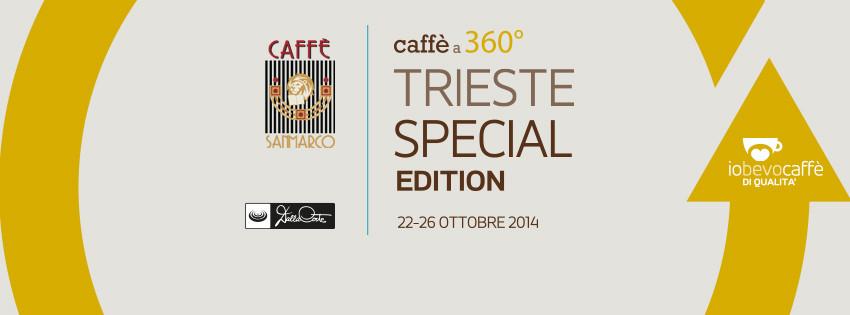 """""""IO BEVO CAFFE' DI QUALITÁ"""" A TRIESTE DAL 22 AL 26 OTTOBRE, UN RICCO PROGRAMMA DI EVENTI"""