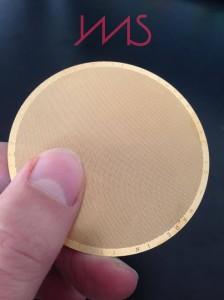 filtro in metallo per aeropress