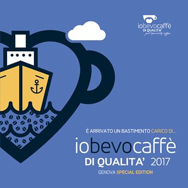 IO BEVO CAFFE' DI QUALITA' SBARCA A GENOVA IL 13 MAGGIO
