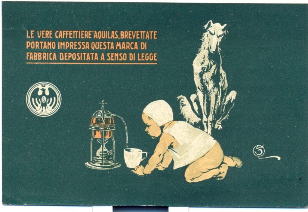 Pubblicità caffettiera 1924