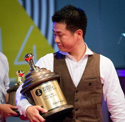 Il World Barista Champion 2014