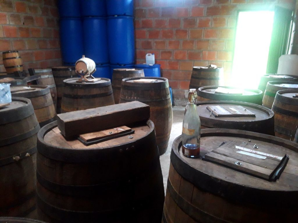Barrique Rum Fermentation