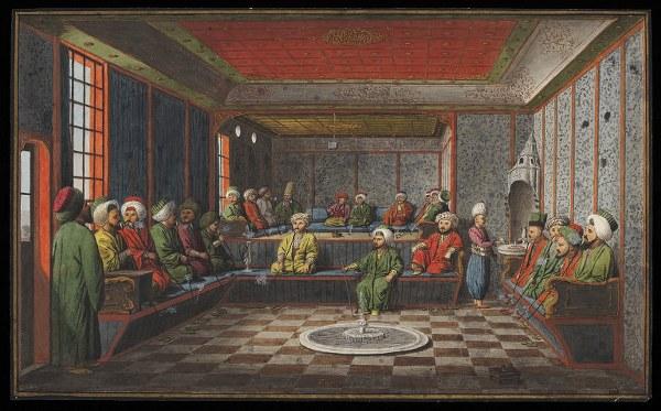 Un caffè di Costantinopoli