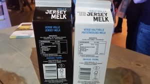 Jersey melk cartoni