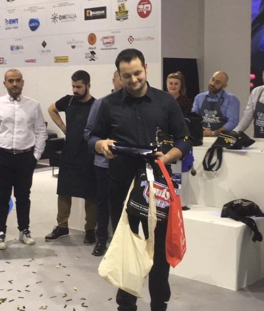 IL CAMPIONE ITALIANO COFFEE IN GOOD SPIRITS 2018 E'….DAN BAICATAN!