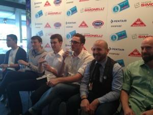 La conferenza stampa della finalissima del campionato del mondo barista.