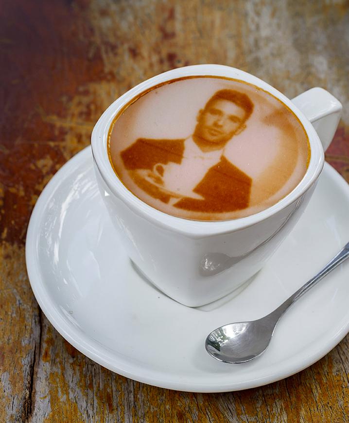 Cappuccino personalizzatissimo...