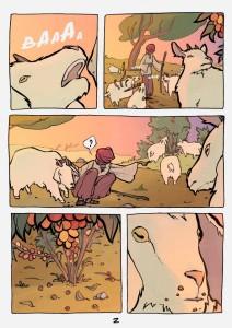 La storia del caffè in un fumetto
