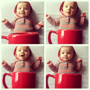 Bambino in tazza!?!