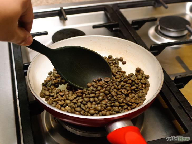 TOSTARE IL CAFFÉ IN PADELLA