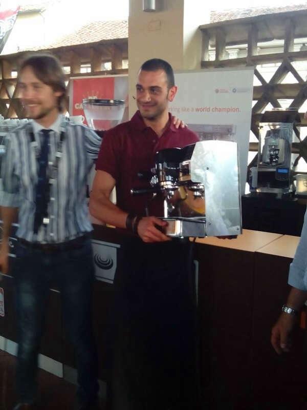 LATTE ART CHALLENGE, A PAUSA CAFFE' FESTIVAL
