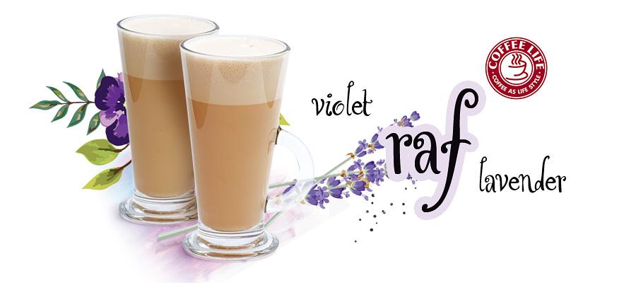 Violet e Lavander Raf