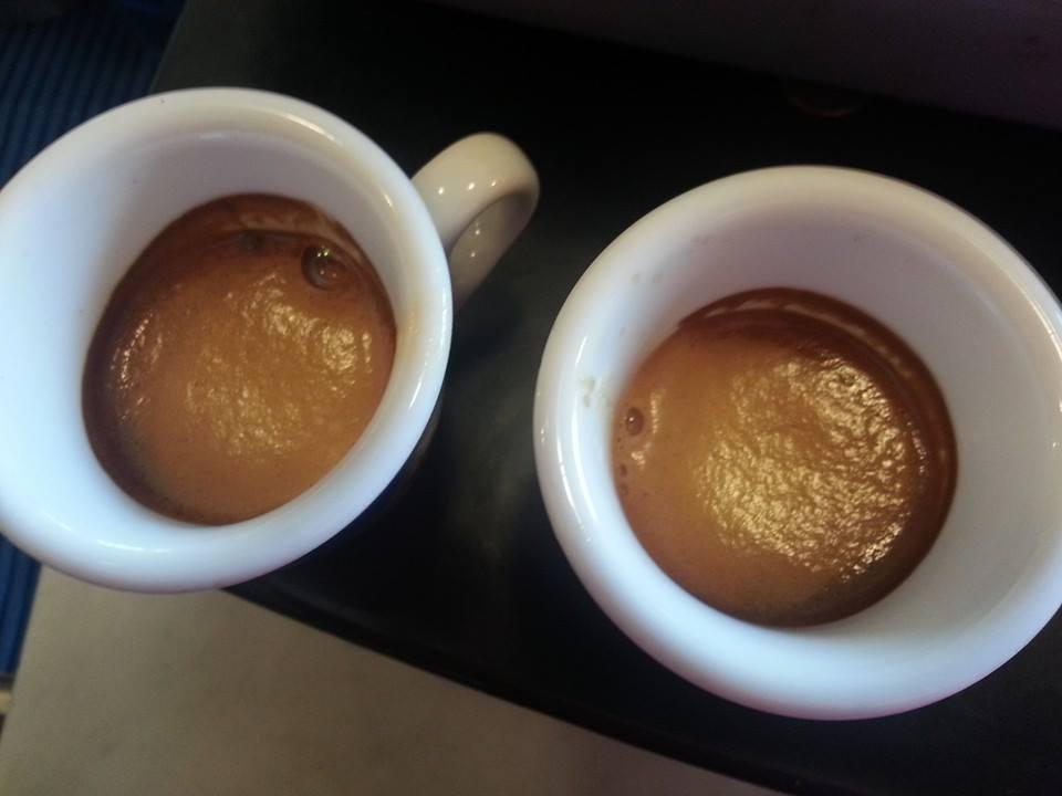 La crema di un espresso ....troppo fresco