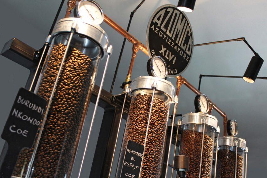 AZOMICO, IL MAGAZZINO DEL CAFFE' PRESERVA GLI AROMI CON L'AZOTO AD ALTA PRESSIONE
