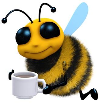 LO SAPEVATE CHE ANCHE LE API AMANO IL CAFFE'?