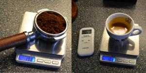 Pesare un espresso