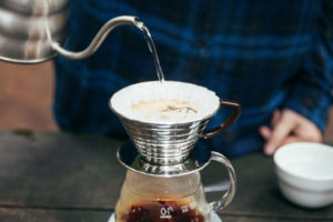 Kalita Wave pour over coffee