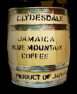 Il classico barile del Jamaica blue Mountain