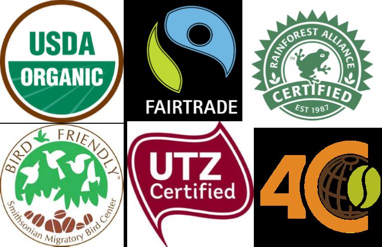 Certificazioni del caffè verde