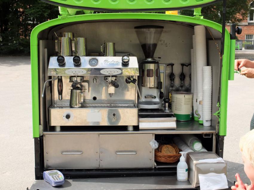 APRIRE UN CHIOSCO AMBULANTE DI CAFFETTERIA
