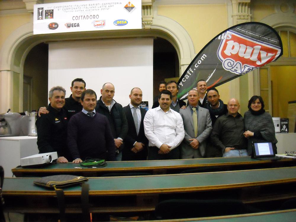 LE SEMIFINALI DEL CAMPIONATO ITALIANO BARISTI CAFFETTERIA (CIBC)