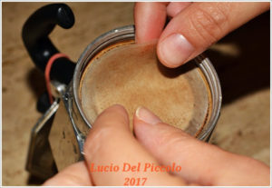 Filtro in Carta<br /> Foto by Lucio del Piccolo