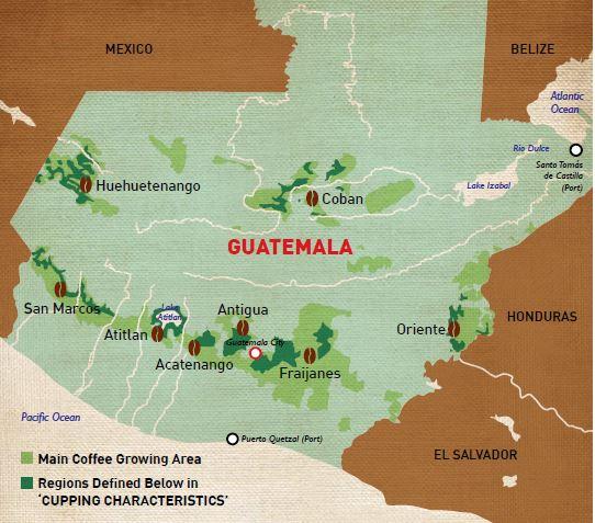 TUTTI I PAESI DEL CAFFE': IL GUATEMALA