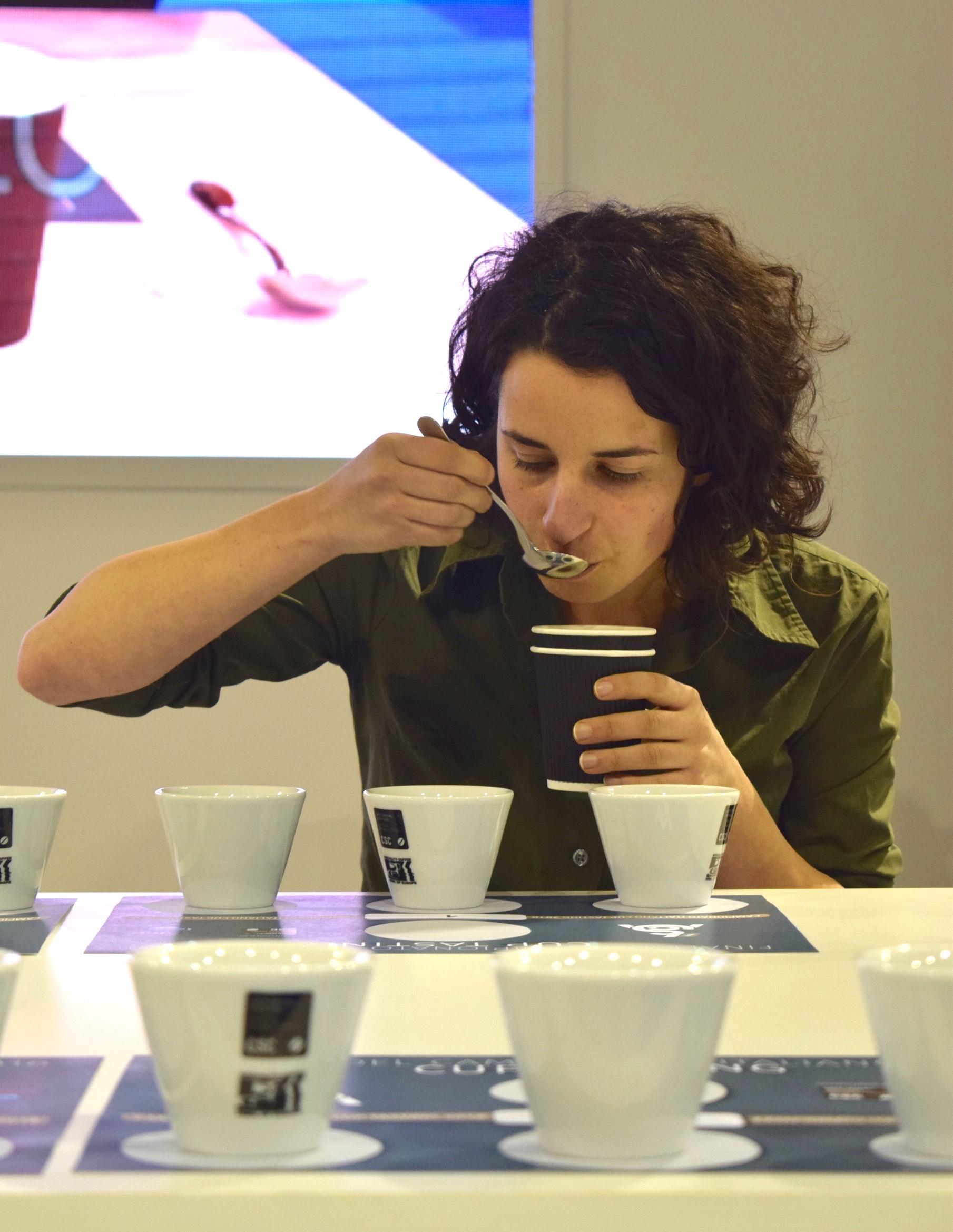 Helena Oliviero Cup Tasting