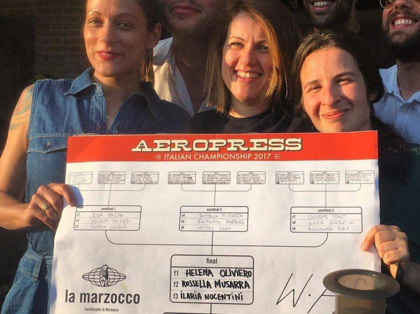 LE 3 RICETTE SUL PODIO DEL CAMPIONATO ITALIANO AEROPRESS 2017!