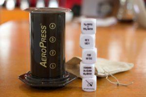 Coffee Brewing Dice