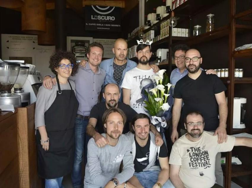 IL PRIMO CAMPIONE ITALIANO COFFEE ROASTING E'…RUBENS GARDELLI